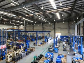 阿特拉斯·科普柯现代化生产车间,涵盖:富达空压机,博莱特空压机