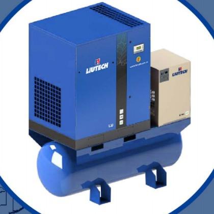 一体式空压机,一体式空气压缩机,一体式螺杆空压机