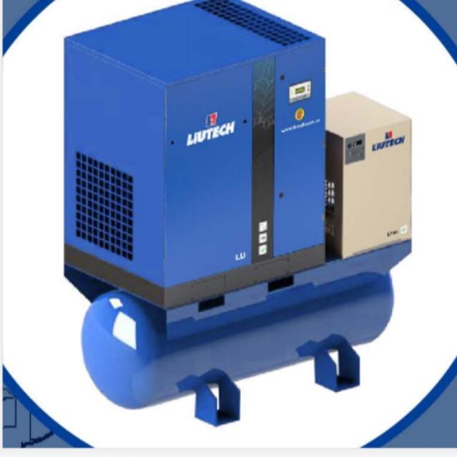 中高端系列:LU(4-30KW)一体机(0.5-5.0m³/min)