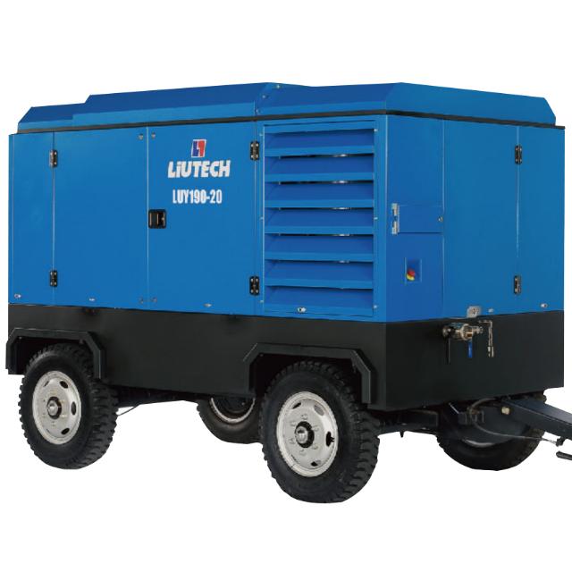 LUY(55-280KW)D电动移动式空压机(10.0-30.0m³/min)
