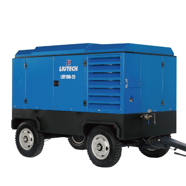 LUY(33-410KW)柴动移动式空压机(5.0-45.0m³/min)
