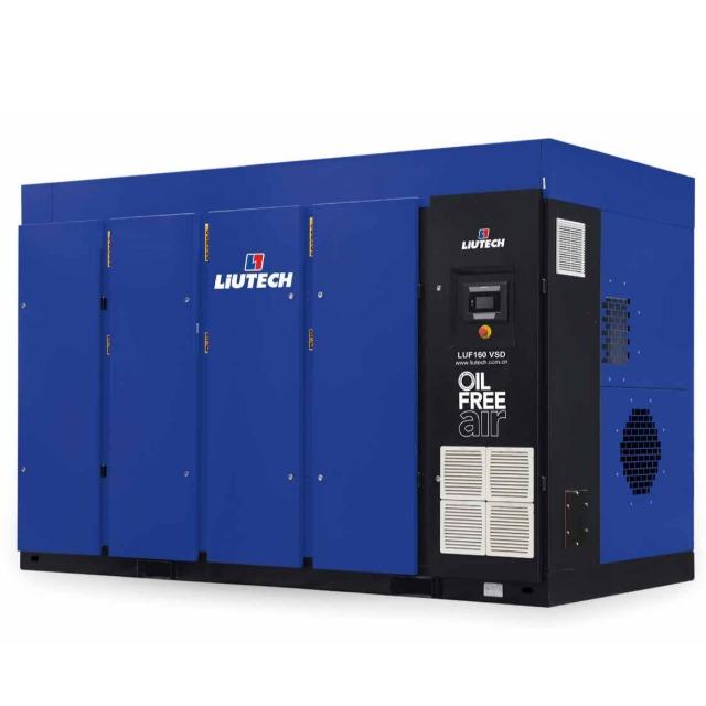 LUF(55-160KW)干式无油螺杆压缩机(8.0-25.0m³/min)